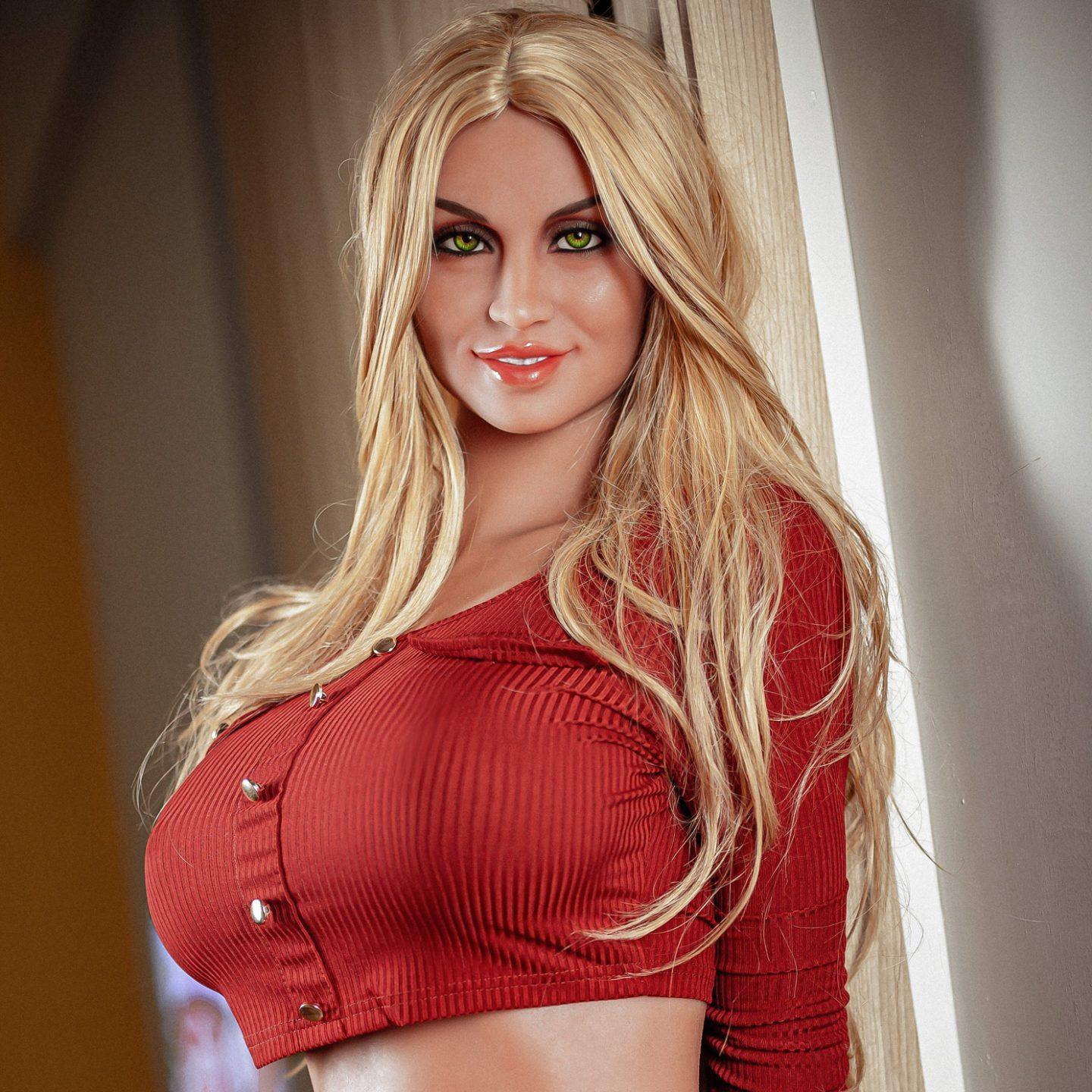 """Alyson – Classic Sex Doll 5′4"""" (163cm) Cup E Gel filled breast Ready-to-ship"""