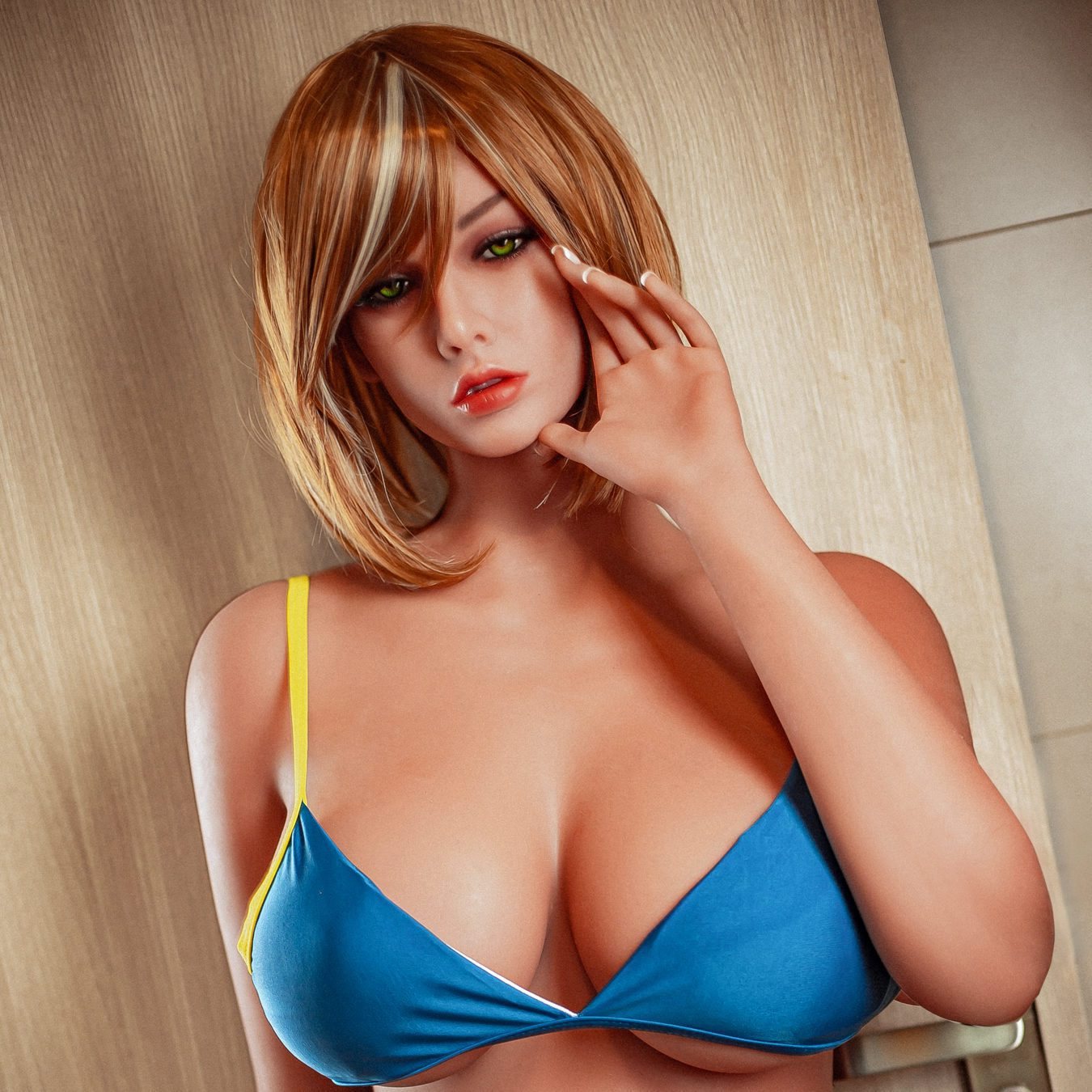 """Paityn – Classic Sex Doll 5′4"""" (163cm) Cup E Gel filled breast Ready-to-ship"""