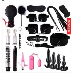 22pc Pro Bondage Play Kit